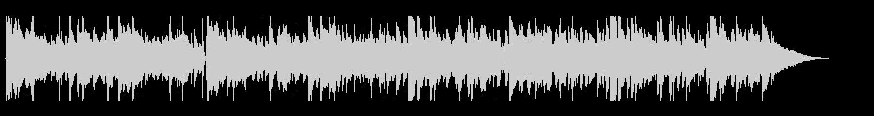 生録音アコギのエレクトロニカ系トラックの未再生の波形