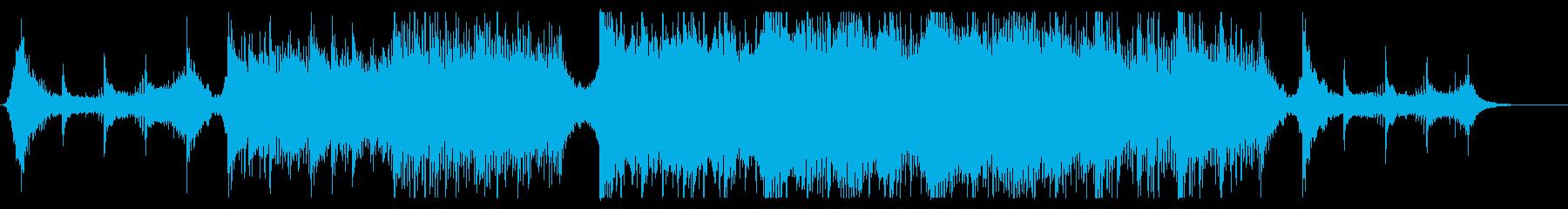 ハリウッド映画風の壮大オーケストラ13の再生済みの波形