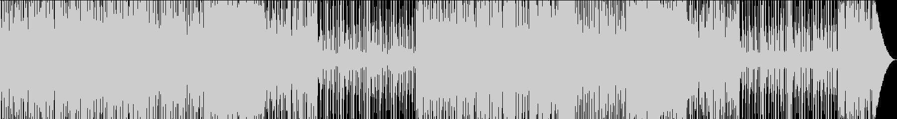 ダークで緊迫したドラムンベースの未再生の波形