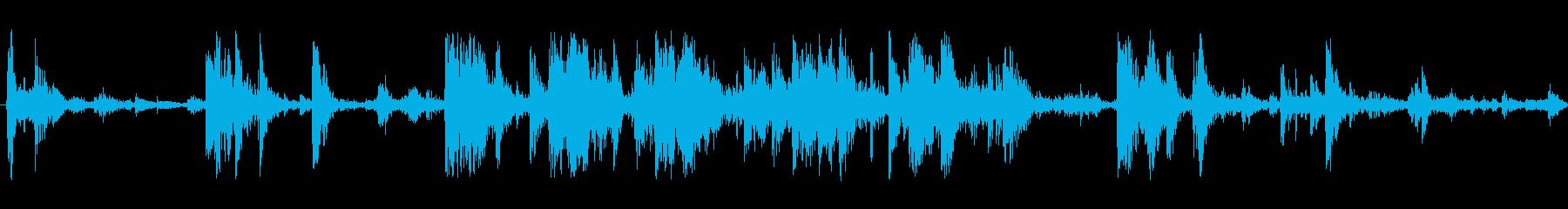 ごみを介したRU;ヴィンテージ録音...の再生済みの波形