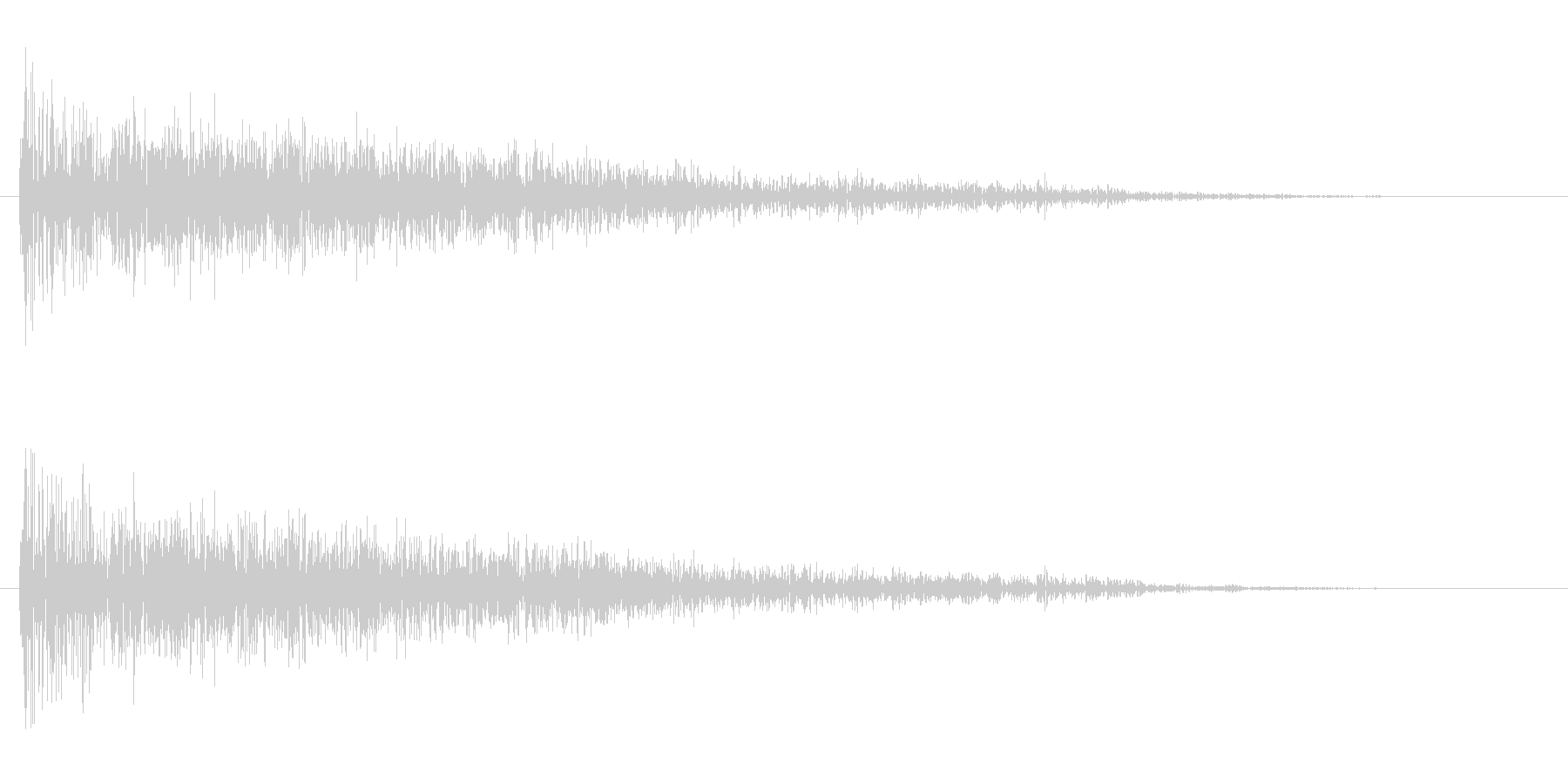 衝撃 Distorted Expl...の未再生の波形