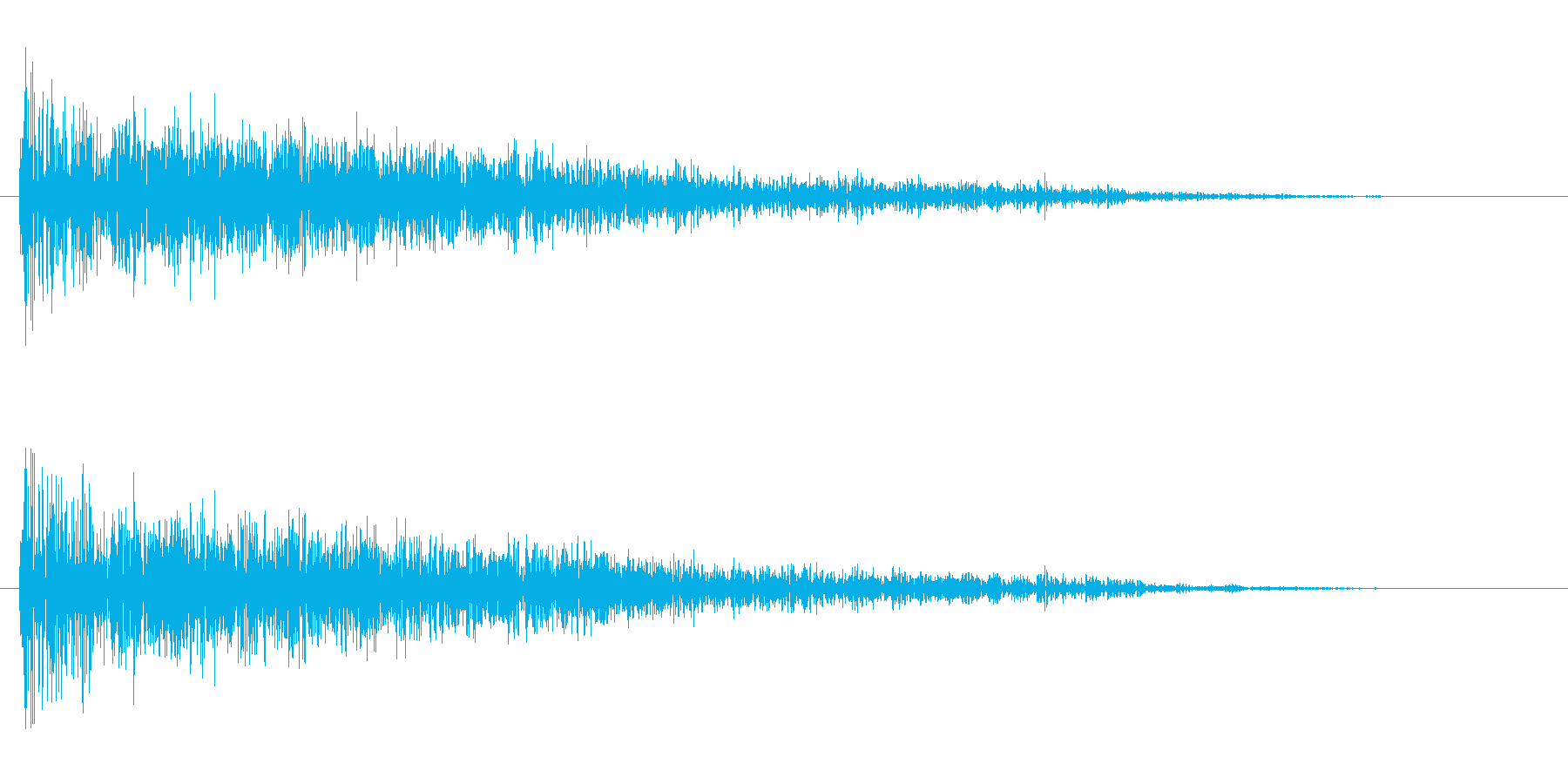 衝撃 Distorted Expl...の再生済みの波形
