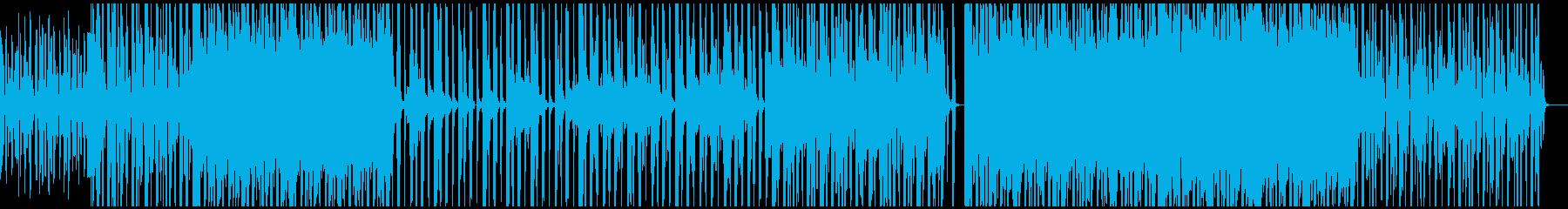 軽快なカッティングを活かしたピアノ主旋律の再生済みの波形
