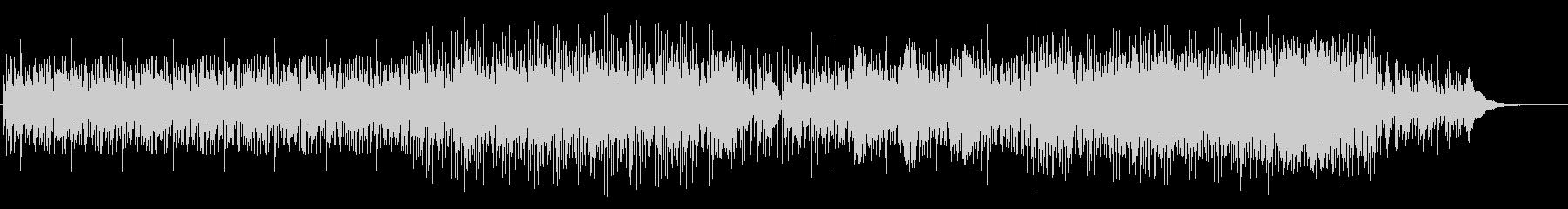 謎めいたエスニックドラムの未再生の波形