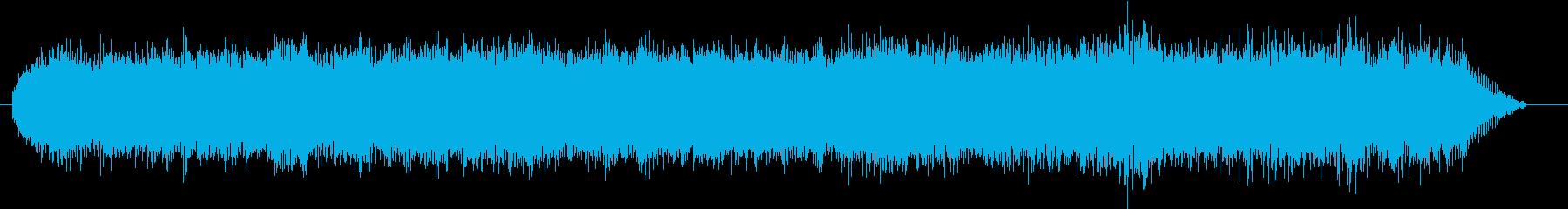 振動サンダー:開始、中圧の砂、シャ...の再生済みの波形