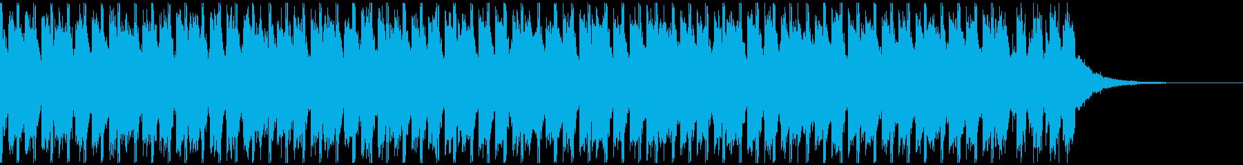 サマーポップ(30秒)の再生済みの波形