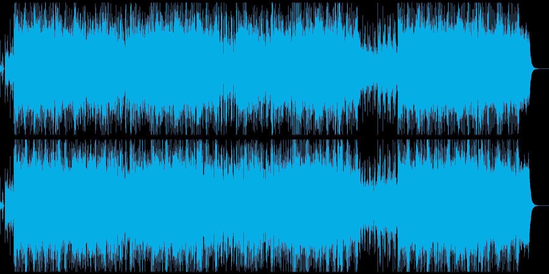 明るいテクノポップ/バイオリンの再生済みの波形