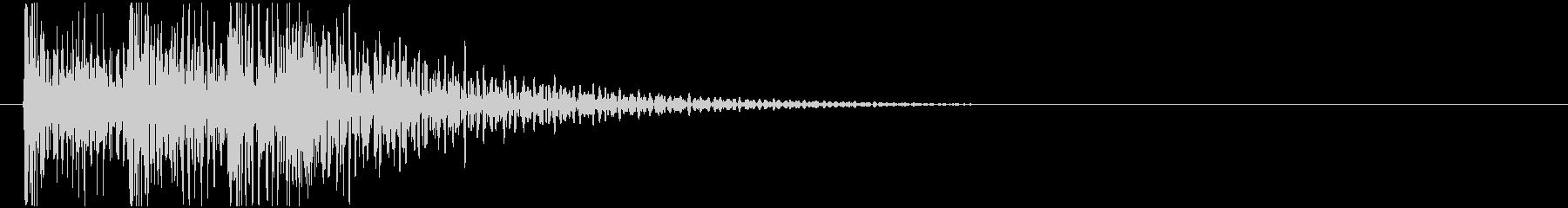 ドンドンドン! (扉をノック・3回)-Aの未再生の波形