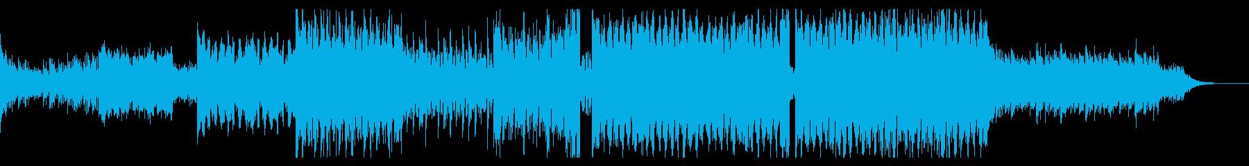 サビのリードが特徴的な爽やかEDMの再生済みの波形