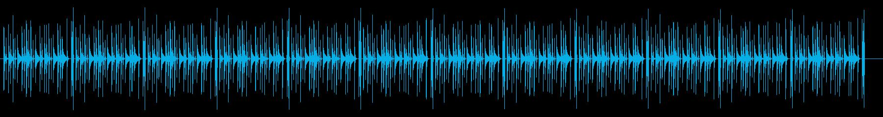 おどけたコケティッシュなBGMの再生済みの波形