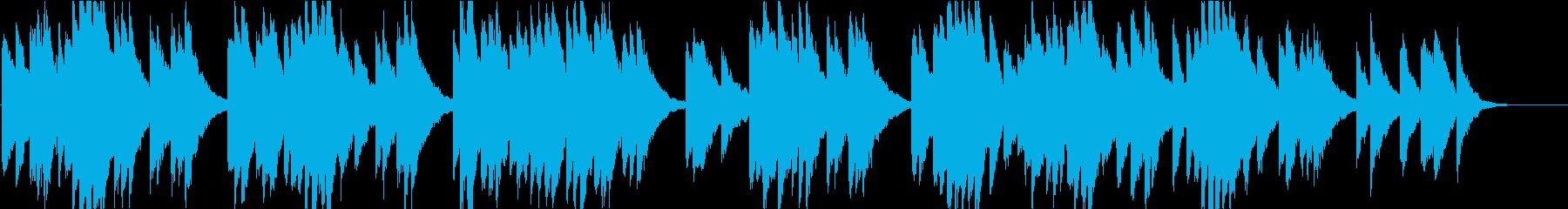 時報・チャイム風の名曲のメロディ・16の再生済みの波形