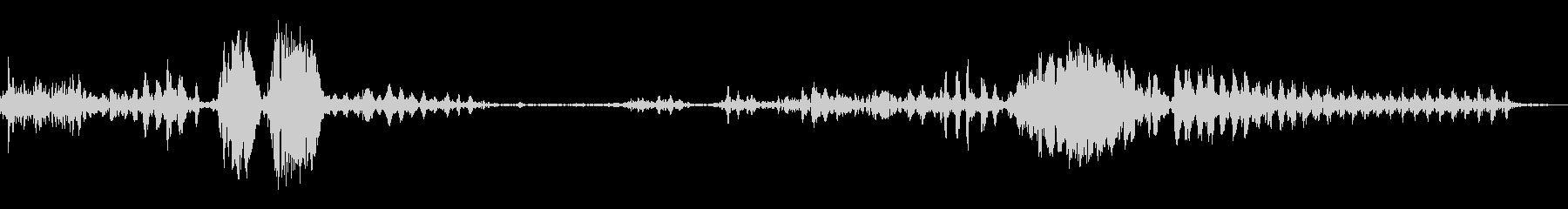 ロービーストグロール;ヴィンテージ...の未再生の波形