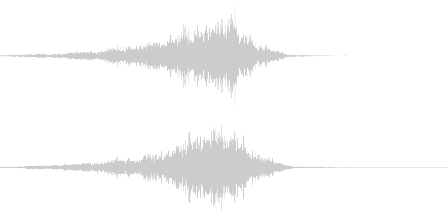 メニュー画面音(ウインドウ,決定等)05の未再生の波形