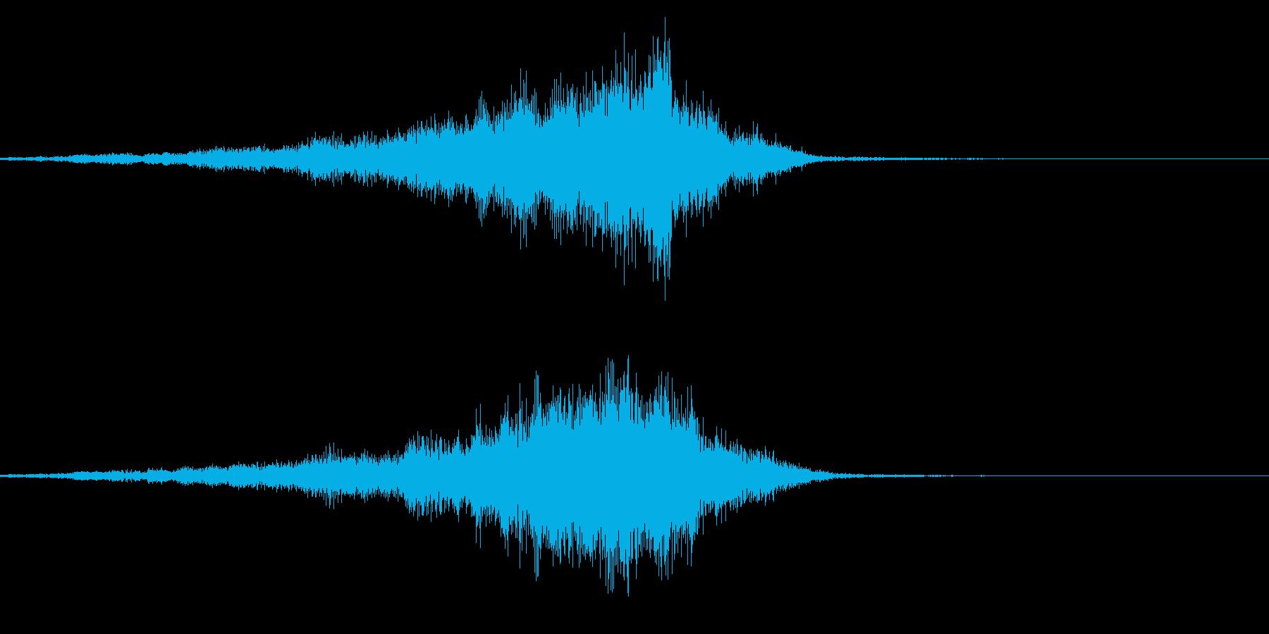 メニュー画面音(ウインドウ,決定等)05の再生済みの波形