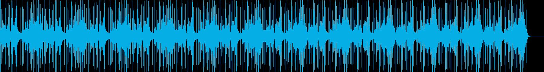 爽やかなメロディーですの再生済みの波形