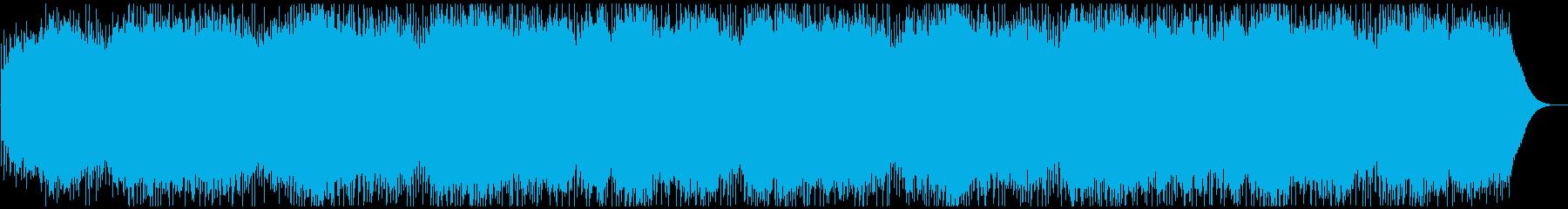 爽やかオープニング映像に 好印象ポップの再生済みの波形