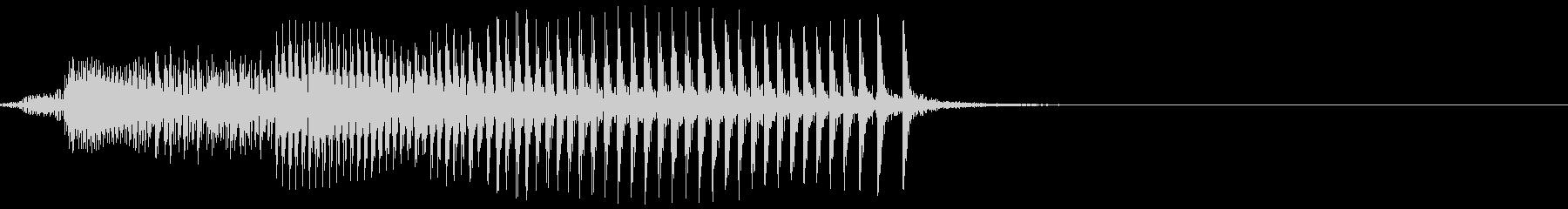 キィイ(木のきしむ音)の未再生の波形