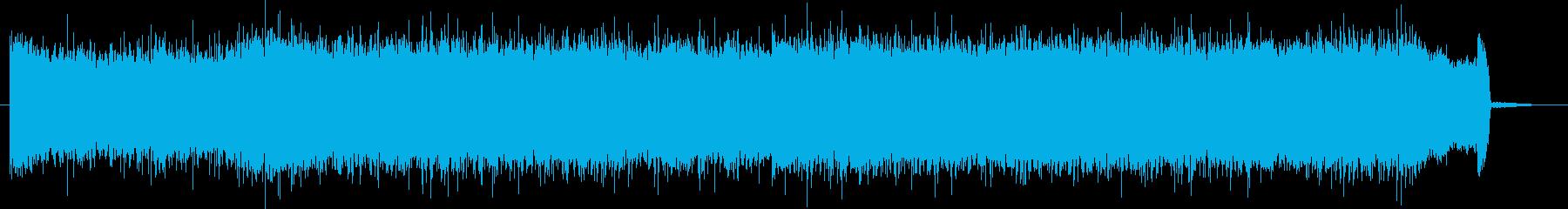 短いCMに使えるかっこいいギターサウンドの再生済みの波形