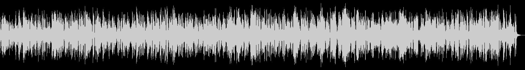 古いクラリネットのディキシーランドジャズの未再生の波形
