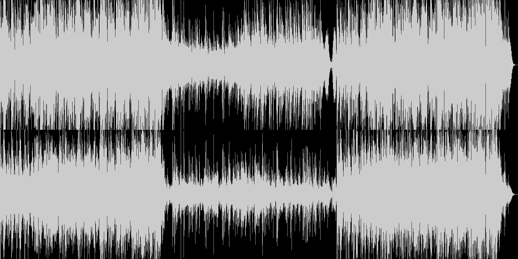 アコギとウクレレが心地よいの未再生の波形