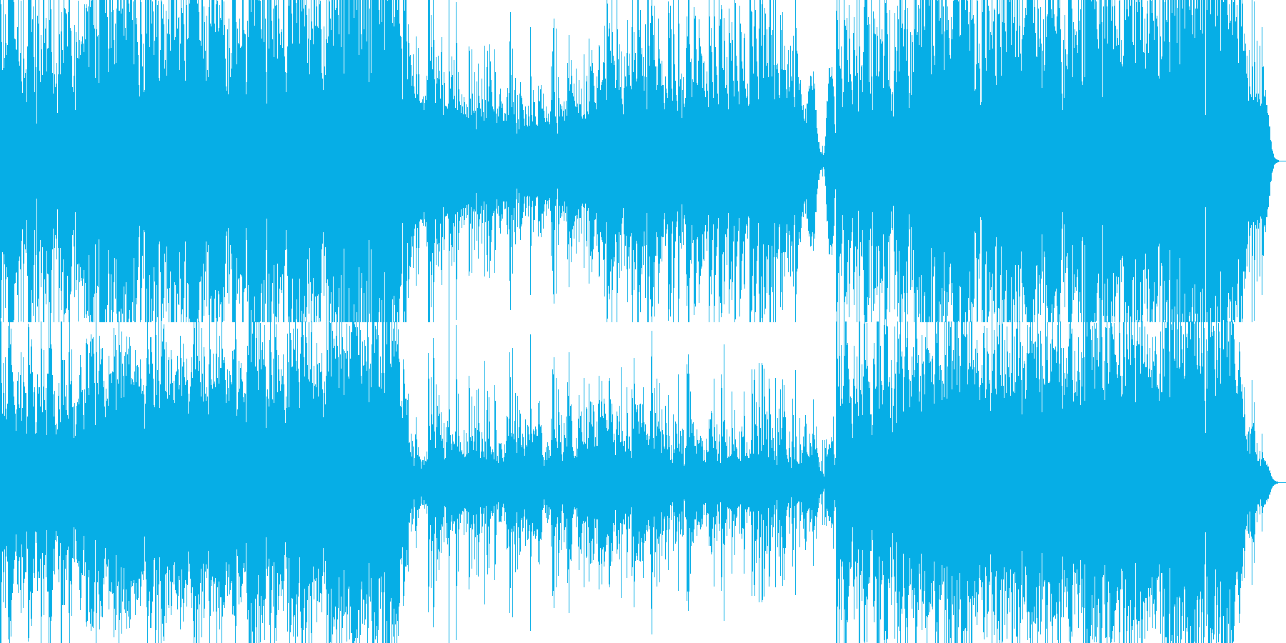 アコギとウクレレが心地よいの再生済みの波形