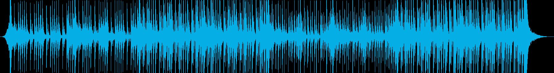 迫力あるドラム、ストンプ、クラップ楽曲の再生済みの波形
