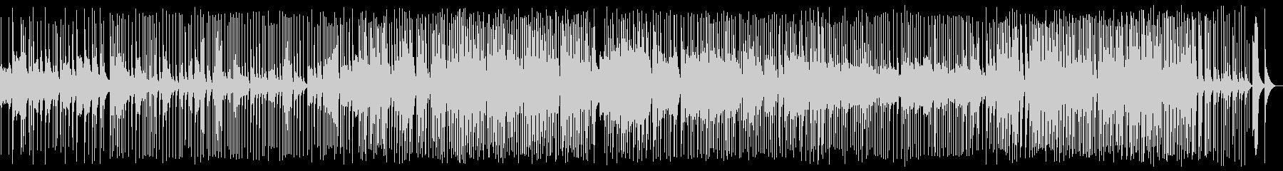 六段の調 シンプルな箏の音色の未再生の波形