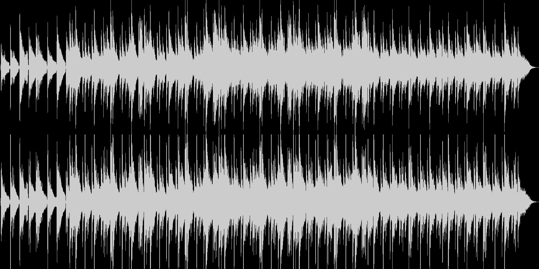 アコギとシンセの静かな挿入曲ですの未再生の波形