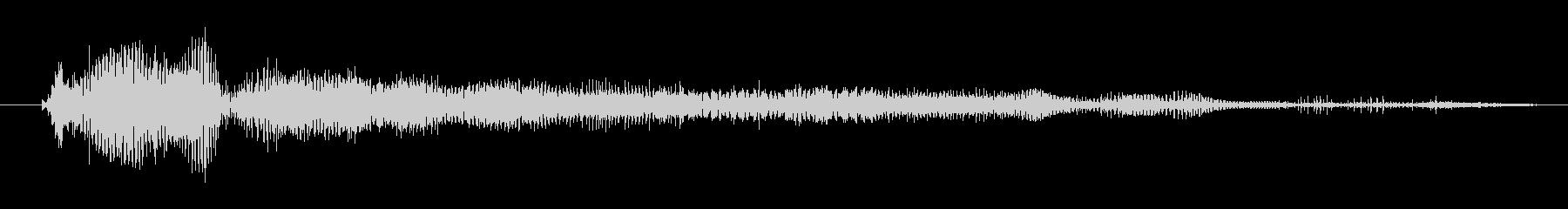 モンスター デススクリームハイ06の未再生の波形