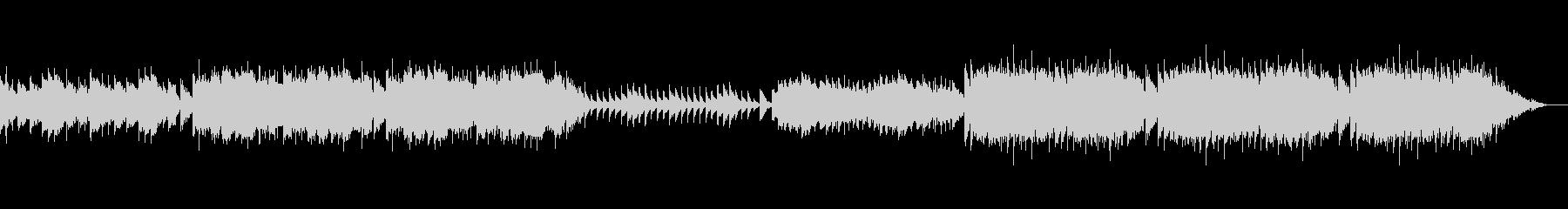 赤ちゃんの昼寝にぴったりな可愛らしい音楽の未再生の波形
