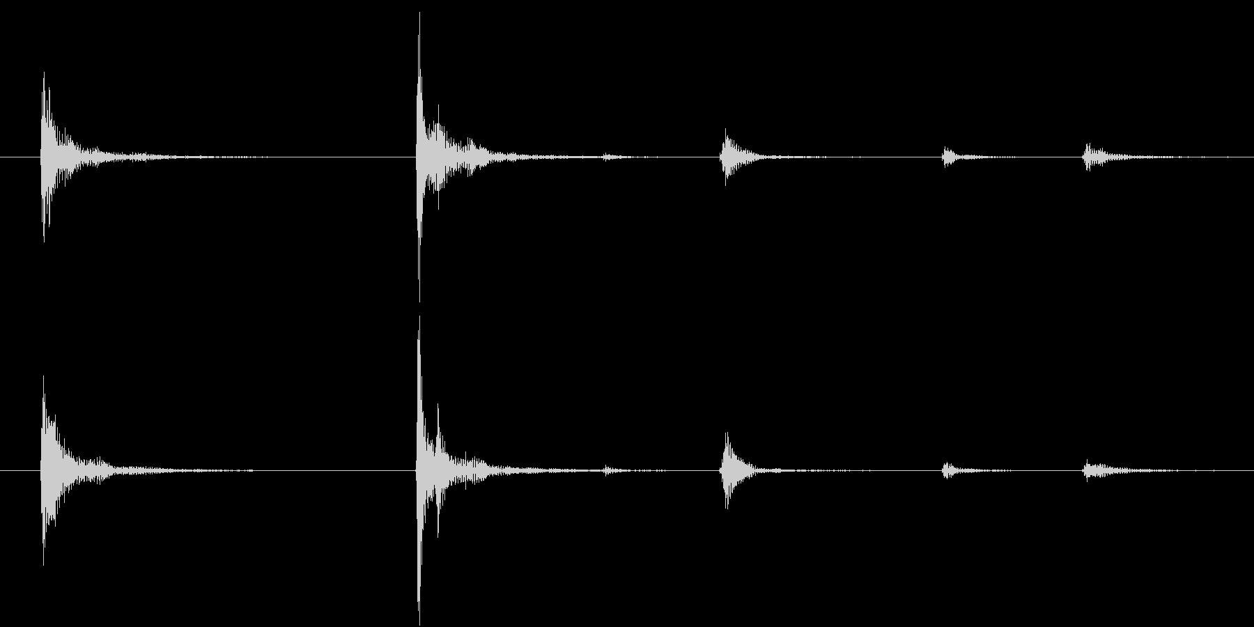 【生録音】お箸の音 25 手に取る 持つの未再生の波形