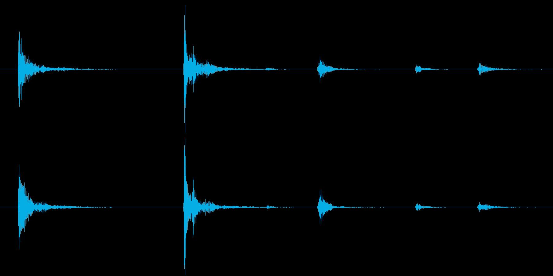 【生録音】お箸の音 25 手に取る 持つの再生済みの波形
