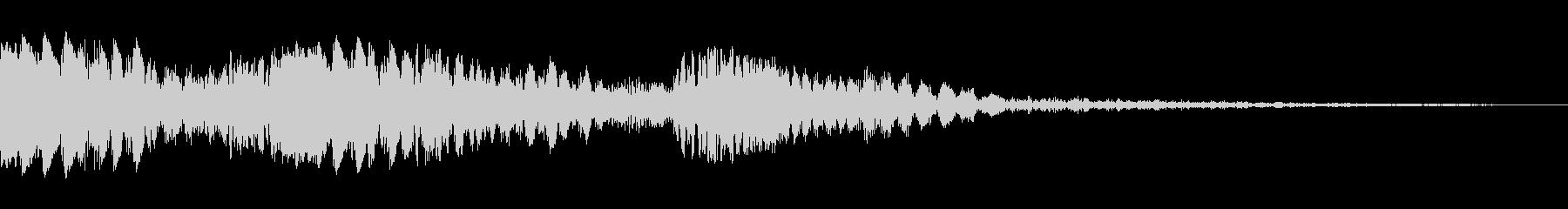 レーザーチャープ、マルチの未再生の波形