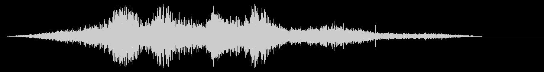 アラリス・パサ列車の未再生の波形