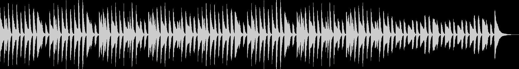YouTube・日常・会話・ピアノソロの未再生の波形