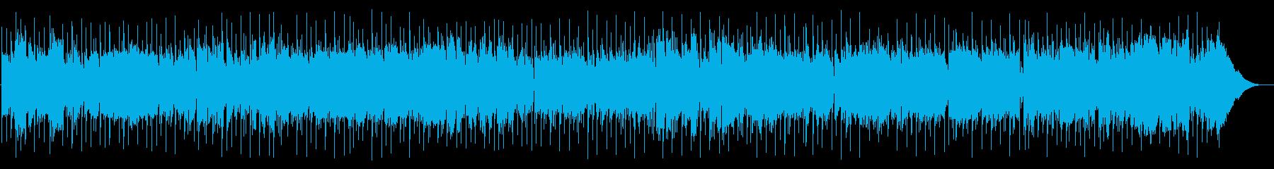 ブルーな気持ちの時に聞いてほしい作品の再生済みの波形