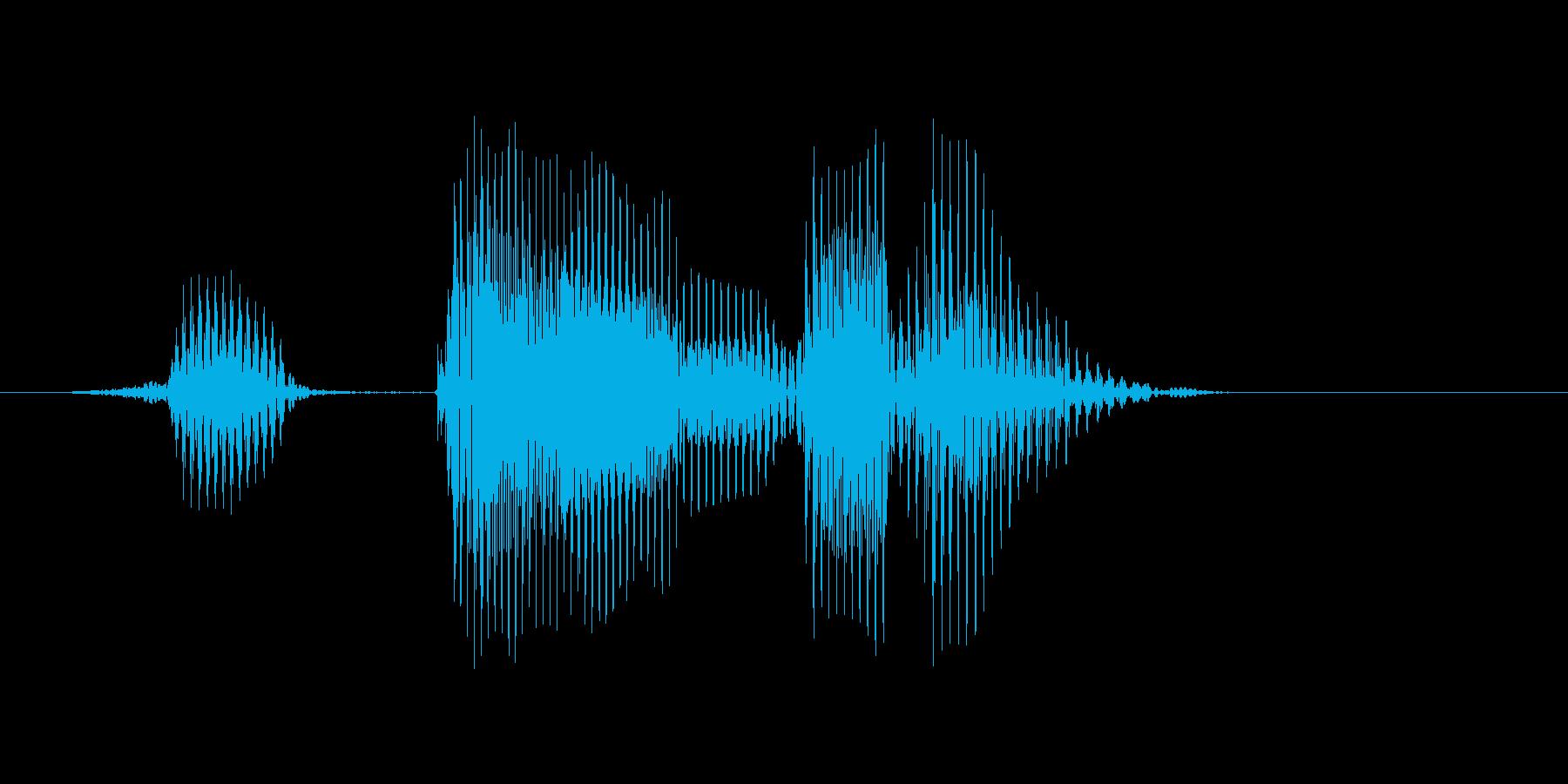 ヒットエンドランの再生済みの波形