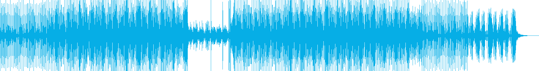 Techno Pop Music's reproduced waveform