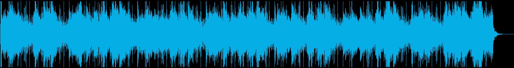 尺八メインの和風曲の再生済みの波形