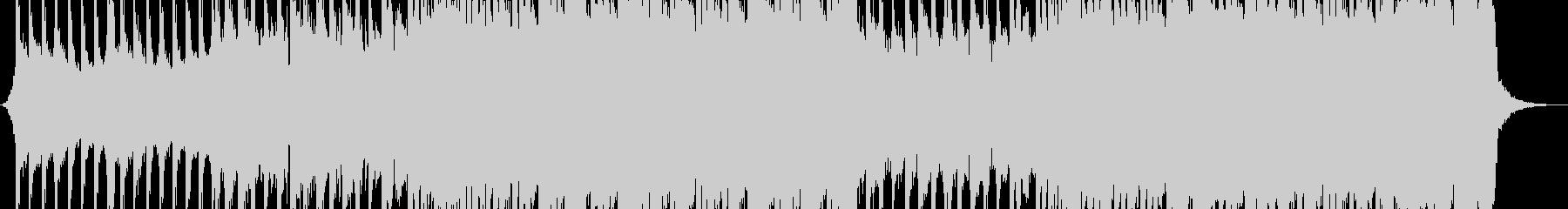 プロモーション用ロックミュージックの未再生の波形