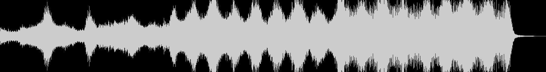 アンデッド・血生臭いホラーを演出 B3の未再生の波形