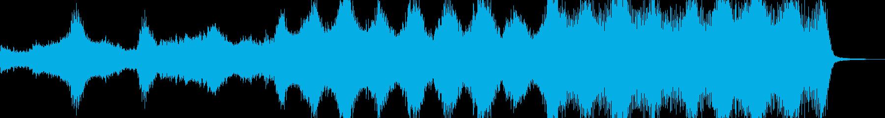 アンデッド・血生臭いホラーを演出 B3の再生済みの波形
