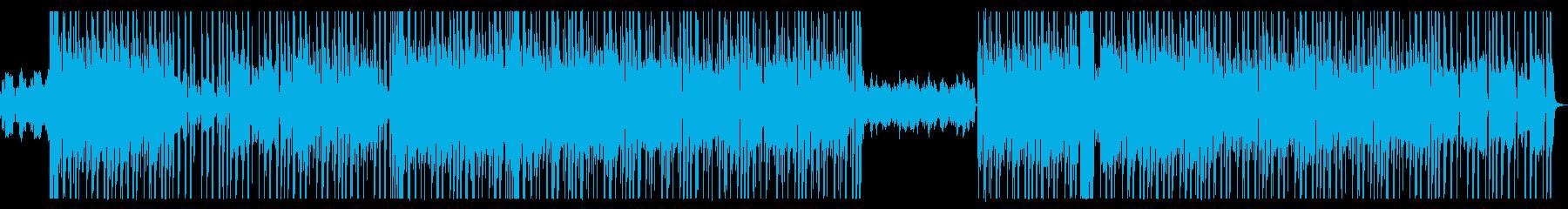 ノスタルジックなおしゃれヒップホップの再生済みの波形