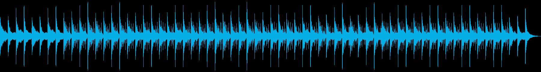 神秘的で優しいローファイヒップホップの再生済みの波形