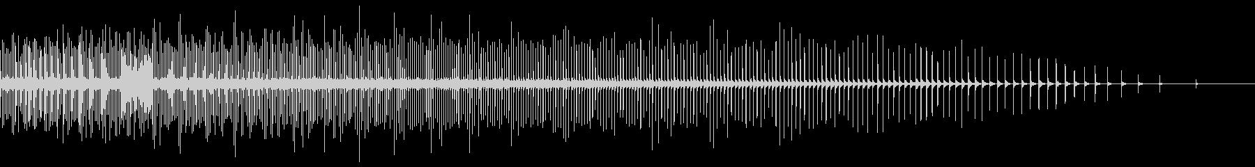[生録音]自転車のラチェット音01-早めの未再生の波形