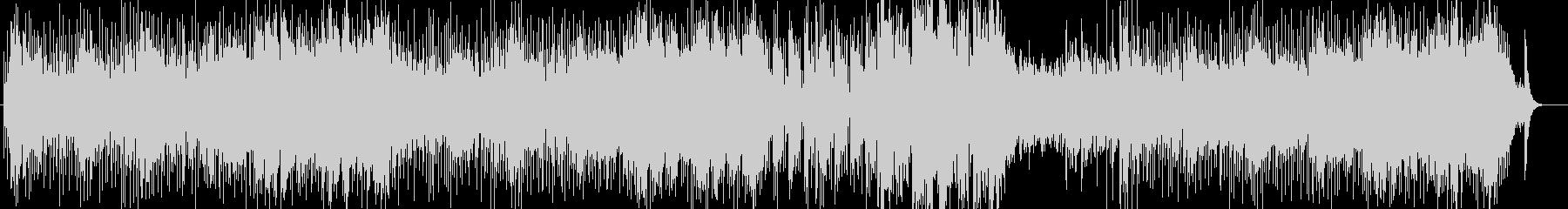 オルガンとシタールのアシッドジャズの未再生の波形
