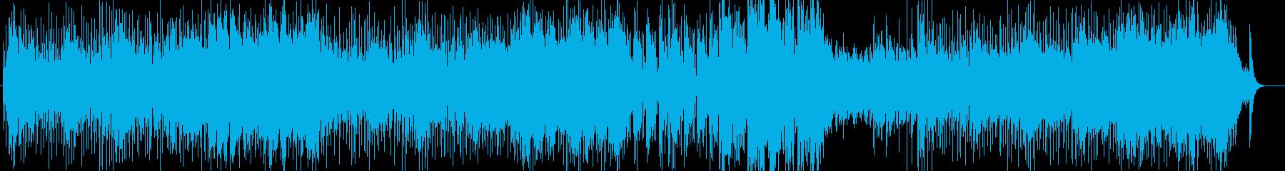 オルガンとシタールのアシッドジャズの再生済みの波形