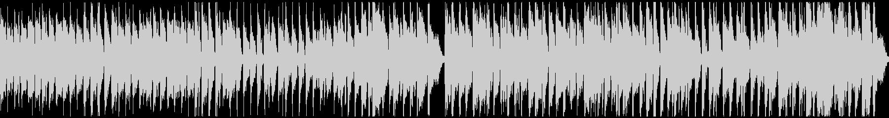 明るく楽しい元気な曲:ループ対応ショートの未再生の波形