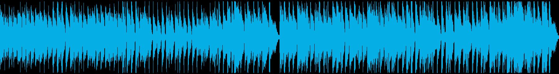 明るく楽しい元気な曲:ループ対応ショートの再生済みの波形