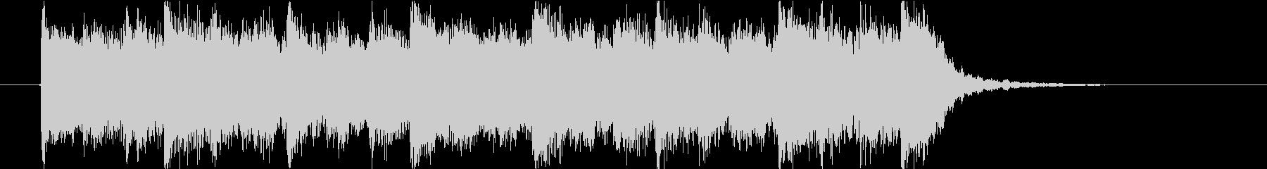 モンスターの唸り声とハロウィンのジングルの未再生の波形
